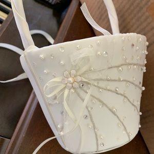 Never used Flower Girl Basket
